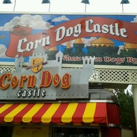 Photo taken at Corn Dog Castle by David S. on 1/22/2012