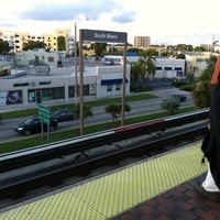 Photo taken at MDT Metrorail - South Miami Station by Cookie G. on 8/22/2011