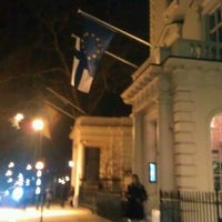 Photo taken at Finnish Embassy by Reeta H. on 1/12/2012