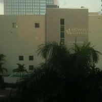 Photo taken at Broward College Downtown Campus by Christopher M. on 1/10/2012