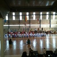 Photo taken at Colégio Emilie de Villeneuve by Andre Luiz B. on 6/17/2012