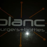 Photo taken at Blanc Burgers + Bottles by Tony H. on 1/18/2012