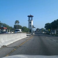 Photo taken at Temple Terrace Entrance Tower by Connor P. on 5/2/2012