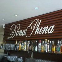 Photo taken at Dona Phina Pizza, Pasta & Grill by victor t. on 11/25/2011