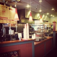 Photo taken at Real Deal Deli by Kristie H. on 11/12/2011