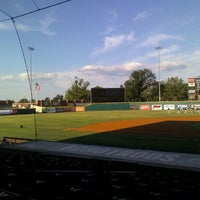 Photo taken at Bowling Green Ballpark by Erin G. on 7/28/2012
