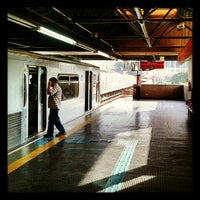 Photo taken at Estação Pedro II (Metrô) by José Otávio T. on 5/24/2012