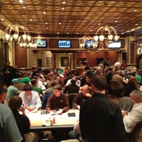 Photo taken at Bellagio Poker Room by Andy C. on 3/18/2012
