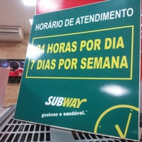 Photo taken at Subway by José Maria F. on 6/27/2012