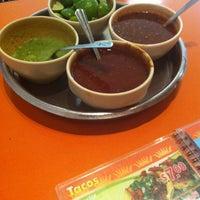 Photo taken at Taqueria Arandas by Jose Luis on 8/18/2012
