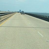 Photo taken at Lake Pontchartrain Causeway by Casey on 6/15/2012