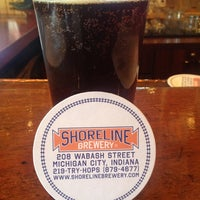 Photo taken at Shoreline Brewery by Brook H. on 6/7/2012