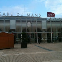 Photo taken at Gare SNCF du Mans by Stephane on 6/13/2012