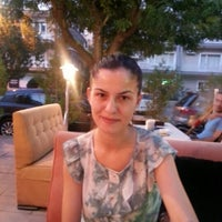 Photo taken at Tırtıl Cafe by Ahu Y. on 8/22/2012