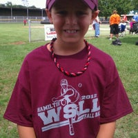 Photo taken at West Side Little League by Mandy P. on 9/9/2012