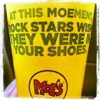 Photo taken at Moe's by Shaun A. on 4/20/2012