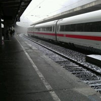 Photo taken at Wuppertal Hauptbahnhof by Kate P. on 2/13/2012