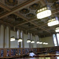 Photo taken at Doheny Memorial Library (DML) by Jawaher A. on 4/12/2013