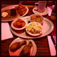 Photo taken at Roscoe's House of Chicken and Waffles by Kristina S. on 11/22/2012