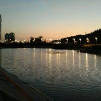 Photo taken at Parque Bicentenario by Alvaro G. on 2/1/2013