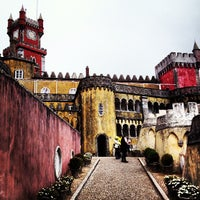 Photo taken at Palácio da Pena by Dong C. on 5/8/2013