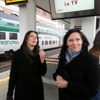 Photo taken at Binario 3 by Gatis K. on 11/10/2012