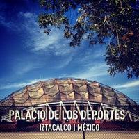 Photo taken at Palacio de los Deportes by Stephanie S. on 2/24/2013