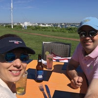 Photo taken at The Brant Point Grill at The White Elephant Hotel by Patricio A. on 6/8/2016