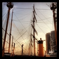 Photo taken at South Street Seaport by Anthony C. on 9/28/2012