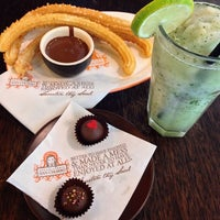 Photo taken at Chocolateria San Churro by Anderson L. on 10/20/2013