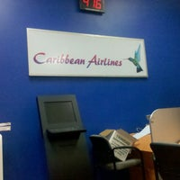 Photo taken at Caribbean Airlines by Hayden F. on 4/11/2013