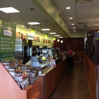 Photo taken at Crispers Fresh Salads, Soups and Sandwiches by Charles W. on 11/13/2012