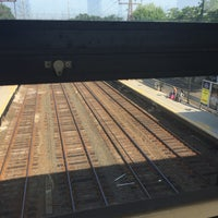 Photo taken at Metro North - Noroton Heights Train Station by Amy on 6/26/2016