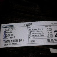 Photo taken at Carnival Cinemas by Tejal D. on 7/13/2013