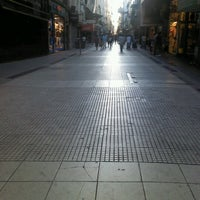 Photo taken at Peatonal Lavalle by Mariel v on 1/13/2013