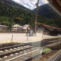 Photo taken at Gare SNCF de Modane by Recep K. on 6/22/2014