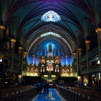 Photo taken at Notre-Dame Basilica of Montréal by Renz N. on 3/2/2013