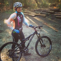 Photo taken at Duthie Hill Mountain Bike Park by snowygrl on 3/9/2013