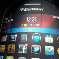 Photo taken at BlackBerry #CES Booth 30326 by William B. on 1/12/2012