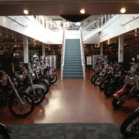 Photo taken at Seacoast Harley-Davidson by Nicole on 10/7/2012