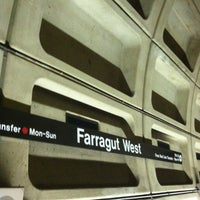 Photo taken at Farragut West Metro Station by Andy F. on 5/10/2013
