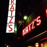 Photo taken at Katz's Delicatessen by David K. on 11/5/2013