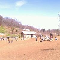 Photo taken at Piedmont Park Dog Park by Edward K. on 3/16/2013