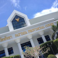 Photo taken at Pattaya Provincial Court by James J. on 9/4/2014