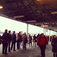 Photo taken at NY Waterway Ferry Terminal Midtown by Katie L. on 11/2/2012