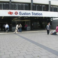 Photo taken at London Euston Railway Station (EUS) by Redha A. on 5/27/2013