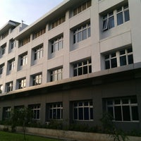 Photo taken at Sekolah Tinggi Transportasi Darat (STTD) by Firmandhi S. on 2/17/2013