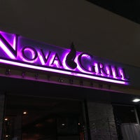 Photo taken at Nova Grill by Ezequiel O. on 5/14/2013