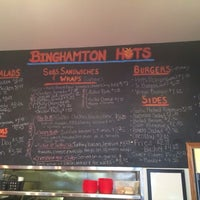 Photo taken at Binghamton Hots by Charles W. on 4/22/2014