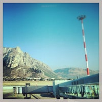 Photo taken at Palermo Airport (PMO) by Claudio on 7/3/2013